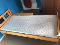 Ikea kids bed plus mattress