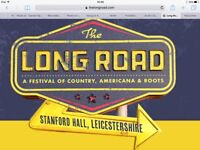 The Long Road Festival, lift share.