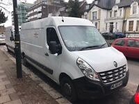 Renault MASTER 2010 panel van MOT one year sat nav bluetooth £1900 Gearbox problem