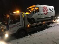 24/7 Breakdown Recovery towing service romford Essex