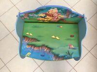 Disney Winnie The Pooh Storage /Bench Seat /Rocking Chair