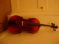 1/2 size cello - good condition, plays beautifully