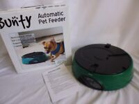 Bunty Automatic 6 Day Meal Pet Dog Cat Feeder Food Bowl Auto Holiday Dispenser.