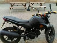 Kymco k-pipe 125 cc motorbike
