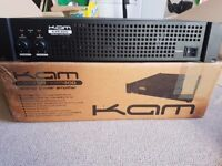 KAM KXR300 Amp - 300 Watt RMS - Rackable with speakon / XLR / Phono - Excellent Condition - £60