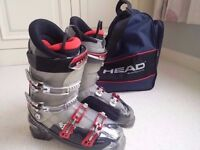 Salomon Falcon CS Ski Boots, never used, immaculate, with boot bag