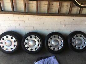 Fiat steel wheels