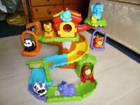 VTECH Toot Safari tree house with extra 6 all but indestructable animals - Shipley