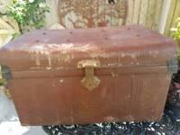 Metal trunk storage