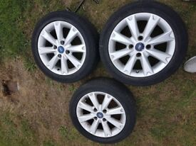 Alloy wheels..195 50 15 very hard to get hold of at this price 3 only