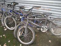 JOB LOT OF KIDS BIKES CHILDS BIKE CHILDREN'S BIKES CHILD'S BICYCLE SPARES/REPAIR