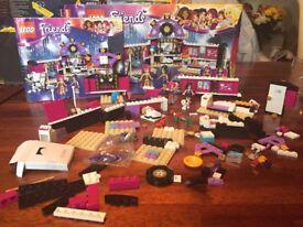 Lego friends pop star dressing room