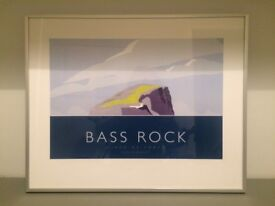 Bass Rock (Firth of Forth) Print framed