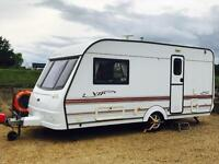 COACHMAN VIP 2000 460/2 'TOURING CARAVAN' (2000 SPECIAL EDITION) 'CRIS REGISTERED - AWNING' (NO VAT)