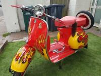 Bike vespa 125cc
