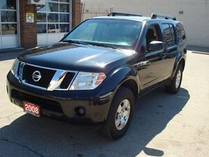 2008 Nissan Pathfinder S 4WD 266HP 7 Seat SUV/Crossover