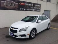 2015 Chevrolet Cruze 1LT CAM B/TOOTH LOADED *CERTIFIED*