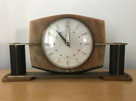 Vintage Metamec Onyx Mantle Clock