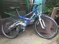 Large Men's Raleigh Bike 26 Wheels