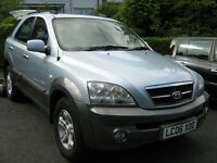 I have a Kia sorento 4x4 SUV full year MOT Im looking for a swap a motorbike or smaller car.