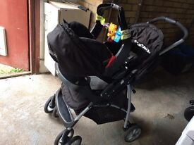 Graco mirage Pushchair and travel system (very good condition)