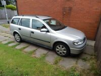 2003 Vauxhall Astra Estate (automatic) 1.6 club 85,000 miles