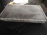 Bmw 5 series radiator
