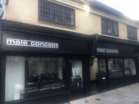 EXPERIENCED FULL & PART TIME FEMALE / MALE BARBERS REQUIRED