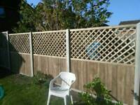 fencing fitting and laying (garden, bases, wok ) ...