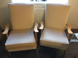Two Parker Knoll Armchairs