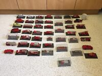 Collection of 47 die cast model fire engines in perfect condition