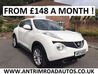 2011 NISSAN JUKE 1.6 ACENTA PREMIUM ** LOW MILES ** FINANCE AVAILABLE ** ALL CARDS ACCEPTED