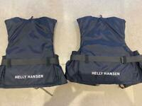 Pair of HH Lifejackets - SML