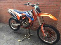 Ktm sxf 250 motocross bike not crf kxf yzf rmz