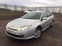 2008 RENAULT LAGUNA INITIALE TOMTOM ESTATE 2.0 DCI 180 BHP MOT AUG 2017 KEYLESS ENTRY FULL LEATHER