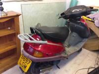 Honda 100 moped