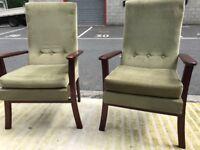 Pair of Retro Chairs (@07752751518)