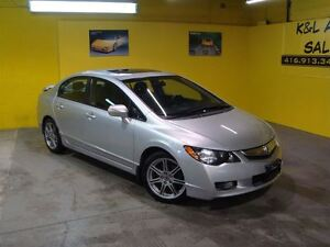 2010 Acura CSX Type S ~ 6 SPEED MANUAL ~ NAVIGATION ~ LEATHER ~