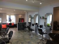 Beauty rooms and salon chairs for rent within well established west end hair and beauty salon