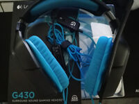 Logitech G430 Gaming Headsets [Near Mint Condition]
