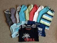Great Boys T-Shirt & Vest Top Bundle, Age 4-5 (13 Items)