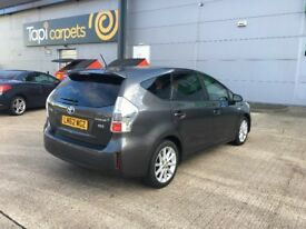 62 reg 2012 toyota prius plus T SPIRIT 1.8 hybrid automatic, only 64k f/s/h, 1 owner, hpi clear