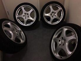18Inch Mercedes alloy wheels