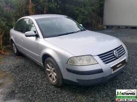 Vw Passat 2002 ***PARTS AVAILABLE ONLY