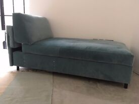 Chaise sofa with storage - completely new