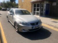 LEXUS IS 220D 2.2TD 2008 , DIESEL FULL SERVICE HISTORY, VERY CLEAN CAR, DRIVES LIKE NEW HPI CLEAR