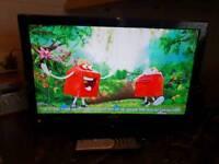 """LUXOR 22"""" TV/DVD COMBO"""