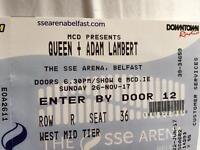 3 Queen & Adam Lambert tickets