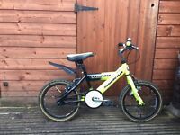 """Boys 14"""" bicycle. Excellent condition. £25."""