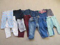 Baby boy clothes - HUGE bundle of 9-12 month clothes for baby boy